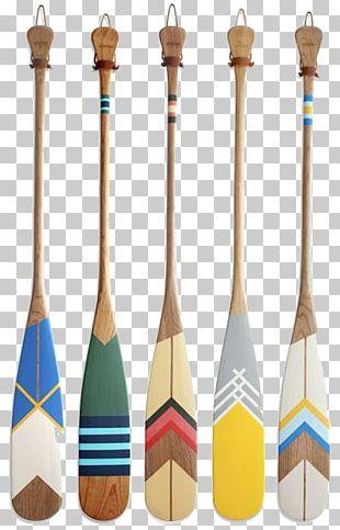 Paddle Oar Canoe Boat Paint PNG