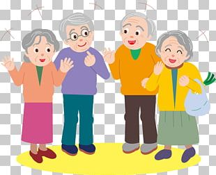 Cartoon Old Age PNG