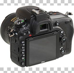 Full-frame Digital SLR Nikon D7500 Canon EOS 77D Camera PNG