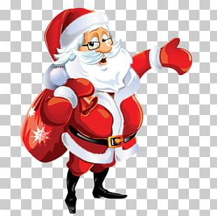 Santa Claus Christmas Ornament Noel Baba PNG