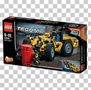 Radio-controlled Car Lego Technic LEGO 42049 Technic Mine Loader Toy PNG