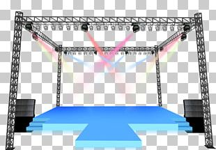 Stage Lighting Computer File PNG