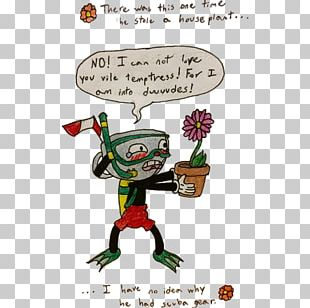 Cuphead Cartoon Fan Art Comics Comic Book PNG