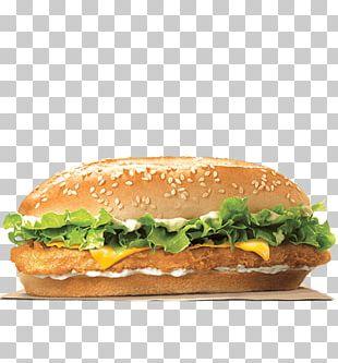 Chicken Sandwich Whopper TenderCrisp Burger King Specialty Sandwiches Hamburger PNG