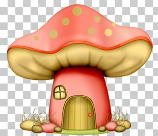 Mushroom House Drawing Fairy PNG