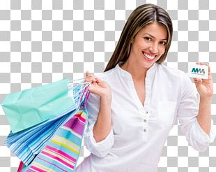 Shopping Bags & Trolleys Credit Card Gift Card Woman PNG