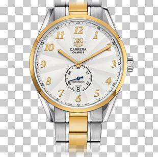 TAG Heuer Carrera Calibre 5 Watch Chronograph Tag Heuer Carrera Calibre 1887 Steel 22 Mm Bracelet BA0799 PNG