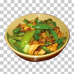 Twice Cooked Pork Snow Pea Vegetarian Cuisine American Chinese Cuisine PNG