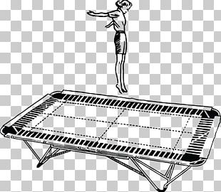 Trampoline Trampolining Jumping PNG