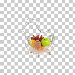 Basket Of Fruit Gift Basket Bowl Stainless Steel PNG