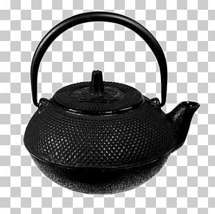 Teapot Kettle Cast Iron Ceramic PNG