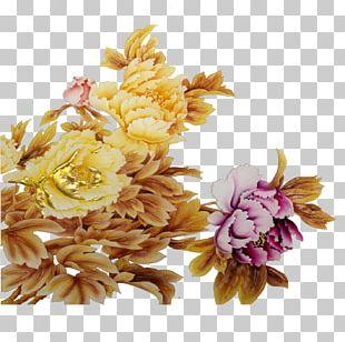 Floral Design Flower Moutan Peony PNG