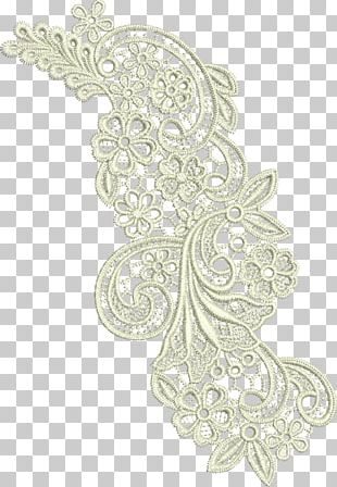 Lace Machine Embroidery Pattern PNG