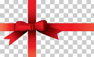 Ribbon Gift Christmas PNG