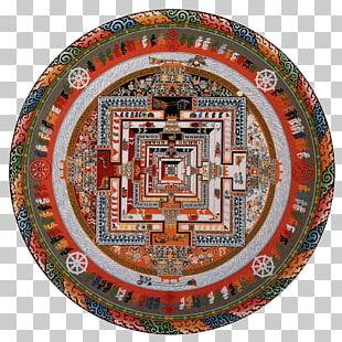 The Mandala: Sacred Circle In Tibetan Buddhism Kalachakra PNG