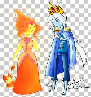 Finn The Human Ice King Marceline The Vampire Queen Flame Princess Princess Bubblegum PNG