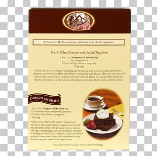 Recipe Hodgson Mill Whole Wheat Gingerbread Mix Whole-wheat Flour Chocolate Brownie Flavor By Bob Holmes PNG