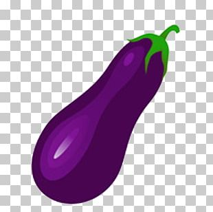 Watercolor Painting Eggplant Purple Google S PNG