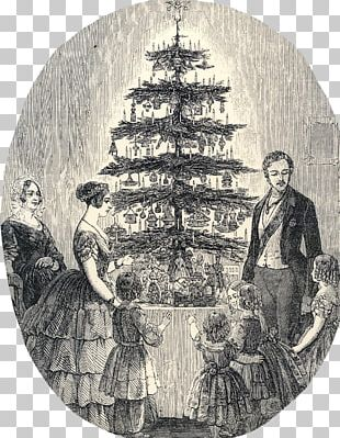 Victoria And Albert Museum Victorian Era Christmas Tree Wedding Of Queen Victoria And Prince Albert Of Saxe-Coburg And Gotha PNG