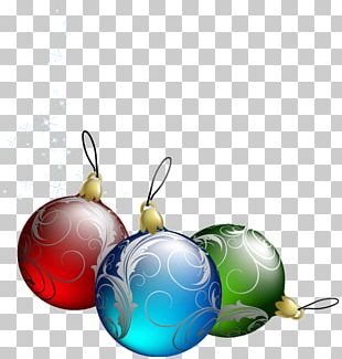 Candy Cane Santa Claus Christmas Ornament PNG