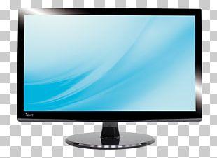 LED-backlit LCD Computer Monitors Television Set LCD Television Liquid-crystal Display PNG