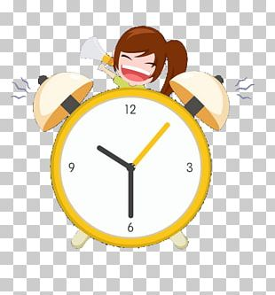 Alarm Clock Airplane PNG