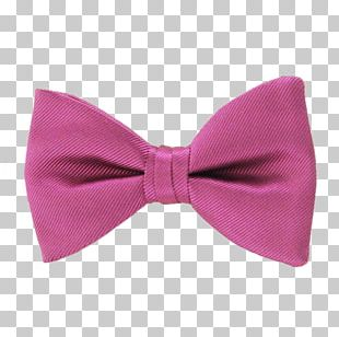 Bow Tie Pink M RTV Pink PNG