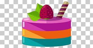 Fruitcake Torte Bakery Gelatin Dessert PNG