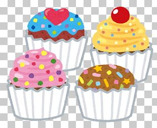 Cupcake Muffin Royal Icing Buttercream PNG