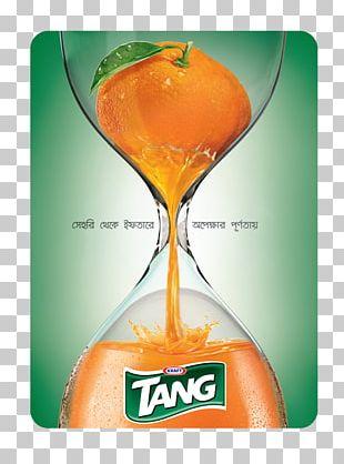 Orange Juice Orange Drink Tang PNG
