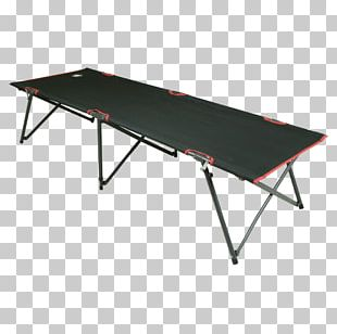 Camp Beds Camping Table Steel PNG