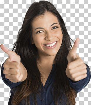 Thumb Signal Organization Feeling Woman Service PNG