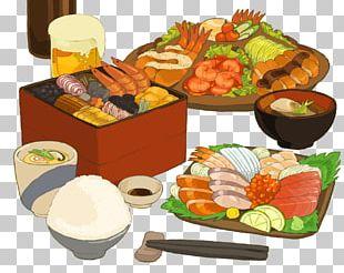 Japanese Cuisine Sushi Sashimi Bento Rice Cake PNG