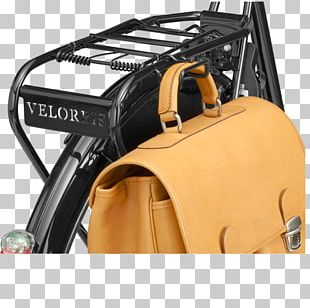Bag Bicycle Briefcase Luggage Carrier Leather PNG