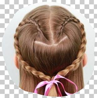Hairstyle Braid Fashion Child PNG