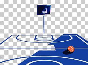 NBA Basketball Court PNG