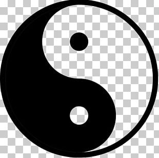 Yin And Yang Symbol Taoism Balance Sign PNG
