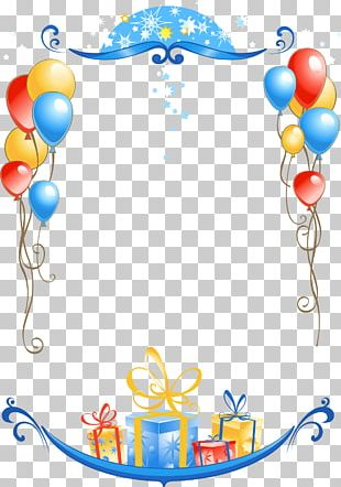 Birthday Frames Greeting & Note Cards PNG
