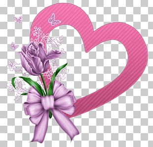 Floral Design Cut Flowers Mallows Pink M PNG