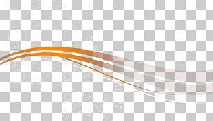 Orange Ribbons PNG