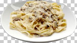 Pasta Italian Cuisine Cream Chicken Ham PNG
