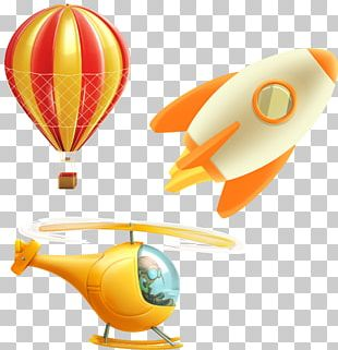 Helicopter Airplane Flight Stock Illustration PNG