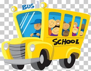 School Bus Bus Driver Public Transport Bus Service PNG