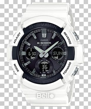 G-Shock Shock-resistant Watch Quartz Clock Solar-powered Watch PNG