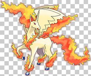 Rapidash Pokédex Pokémon Origins Ponyta PNG