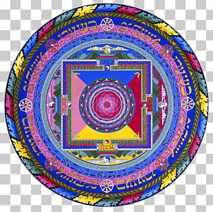 Tibetan Buddhism Symbol Circle Symmetry Pattern PNG