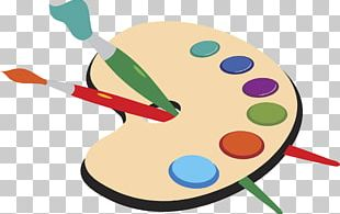 Palette Artist Painting Brush PNG