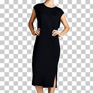 Chanel Little Black Dress Sleeve LITEX šaty Dámské S Křidélkovým Rukávem. 90304901 černá M PNG