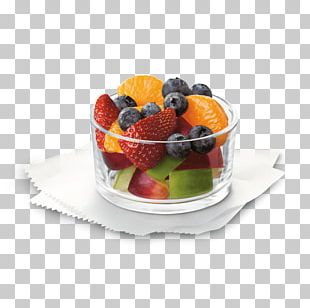 Fruit Salad Fruit Cup Chicken Sandwich Hash Browns French Fries PNG