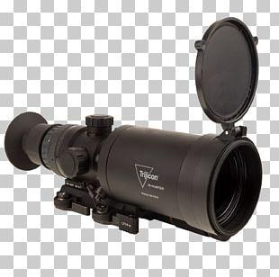 Trijicon Firearm Monocular Telescopic Sight Weapon PNG